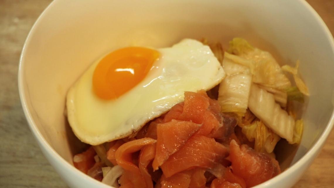 salmonkimchi